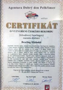 ČR rekord 24h družstev